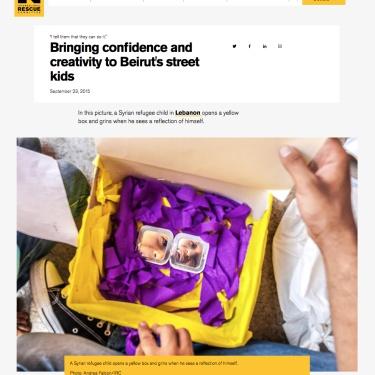 International Rescue Committe (website)