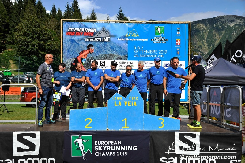 International Veia SkyRace 7 settembre 2019 - Premiazioni - Foto Walter M.