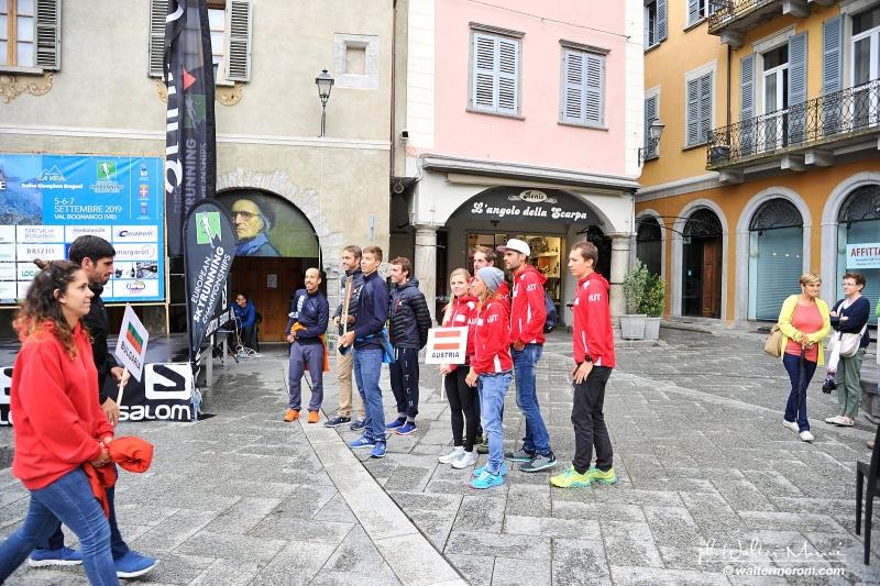 International Veia SkyRace 6 settembre 2019 - Sfilata Squadre - Foto Walter M.