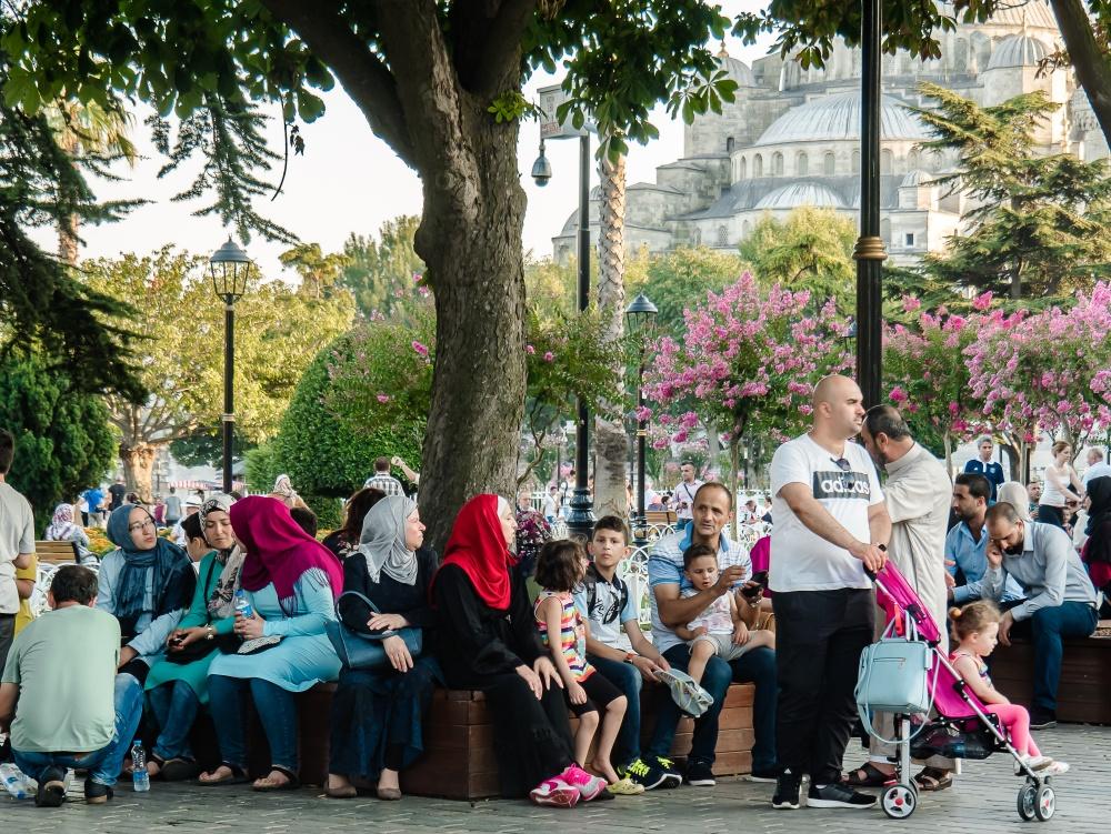 Umanità a Istanbul. Humankind in Istanbul.
