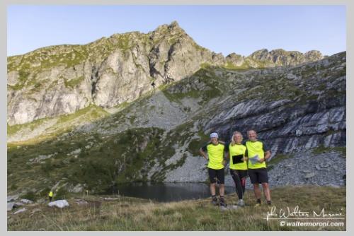 International Veia SkyRace 27 agosto 2017  - Passaggio Lago dei Paioni