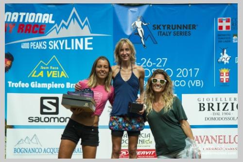 International Veia SkyRace 27 agosto 2017 - Premiazioni